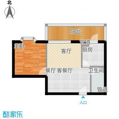 东华金座(尾盘)66.80㎡户型