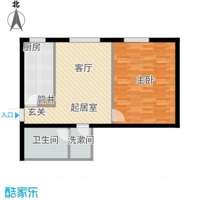 西环景苑(尾盘)59.89㎡户型
