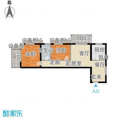 依莲轩(一期)95.39㎡J/K户型