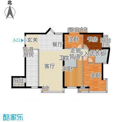 丽水湾畔(尾盘)182.15㎡四居室户型