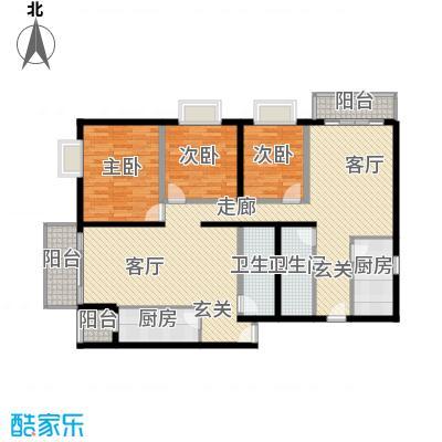 恬心家园(二期)7号楼A+A'与K+K'户型