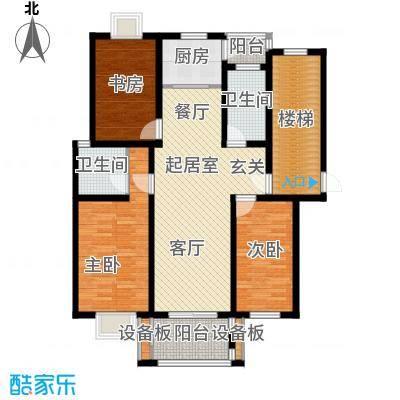 陈渡新苑115.00㎡户型