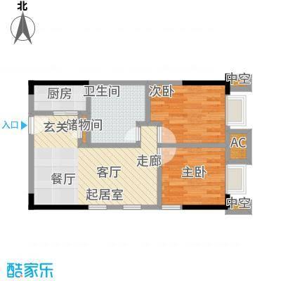 协信中心51.04㎡11号房户型-T