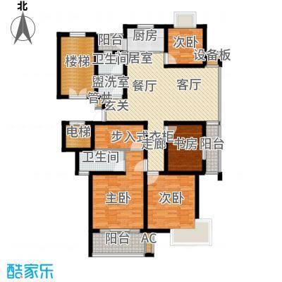 陈渡新苑130.00㎡户型