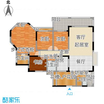 爱加・西西里爱加西西里G'3+入户花园+多功能房户型