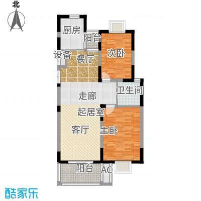 国信・阅景龙华72.39㎡7239-9005m2户型