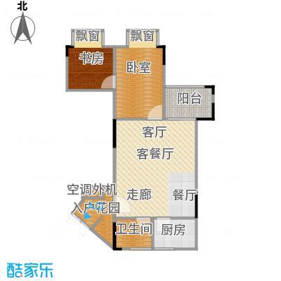 海兰云天・假日风景海兰云天53.77㎡-户型