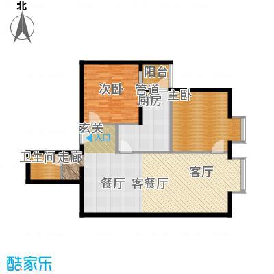 北京上舍105.25㎡一号楼B户型