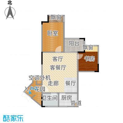 海兰云天・假日风景海兰云天54.40㎡-户型