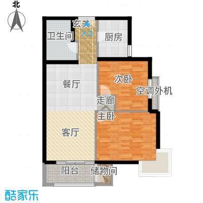依莲轩二期108.20㎡EB3户型