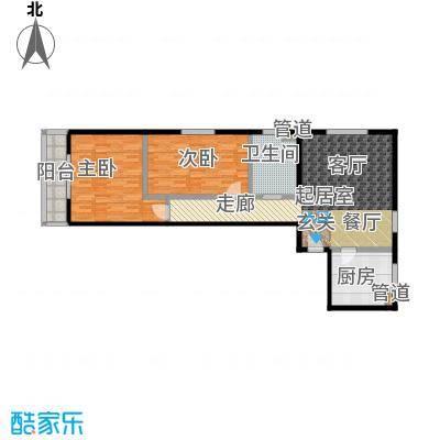 丽景苑98.34㎡户型