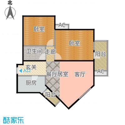 宝华家园(尾盘)92.00㎡户型