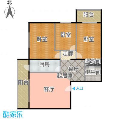 �莲馨苑(尾盘)130.41㎡户型