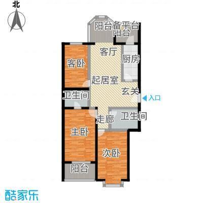枫桦豪景(尾盘)135.32㎡户型
