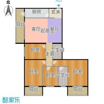 �莲馨苑(尾盘)170.53㎡户型