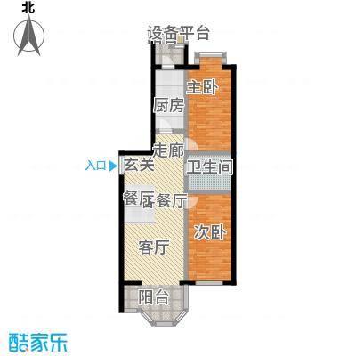 枫桦豪景(尾盘)92.78㎡户型