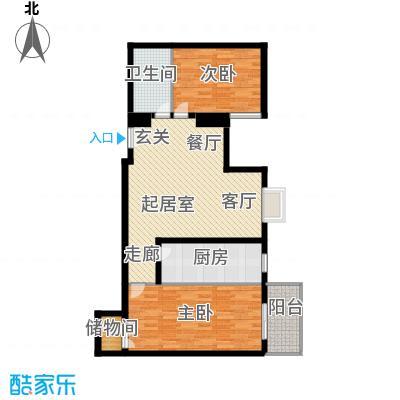 西环景苑(尾盘)93.41㎡户型