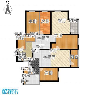 天缘公寓(尾盘)180.40㎡户型