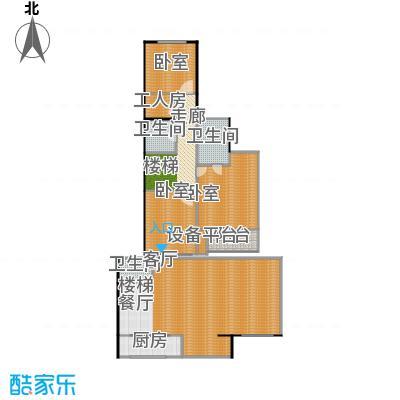 宝润苑208.00㎡户型