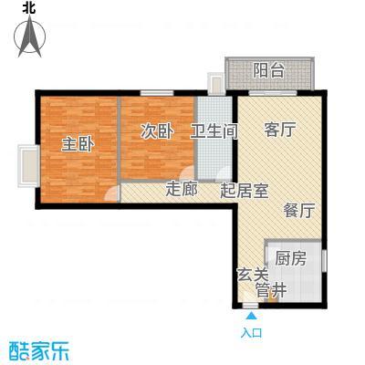 西环景苑(尾盘)101.77㎡户型