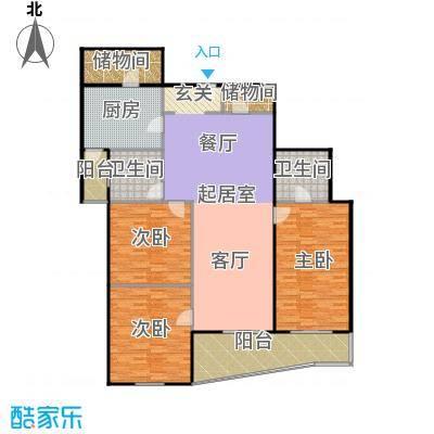 迦南公寓(尾盘)179.08㎡户型