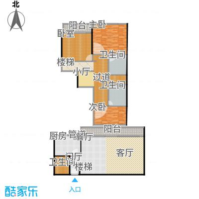 宝润苑193.00㎡户型