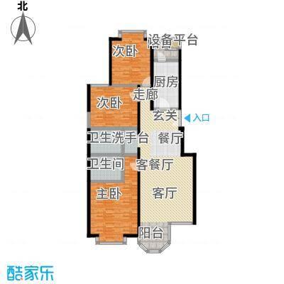 枫桦豪景(尾盘)156.70㎡户型