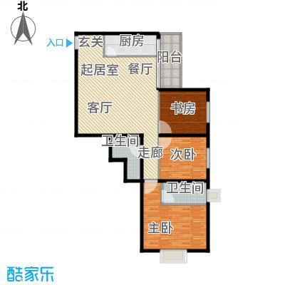 西环景苑(尾盘)126.73㎡户型