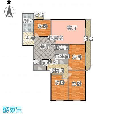迦南公寓(尾盘)210.10㎡户型