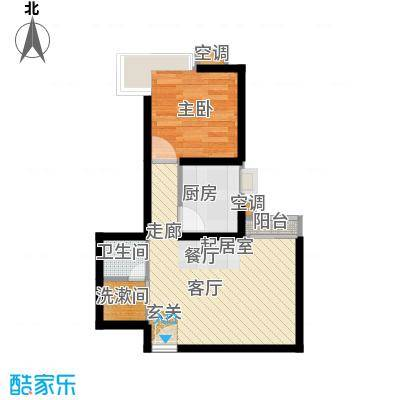 嘉莲苑39.99㎡户型