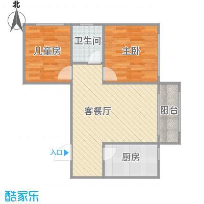 中海紫御华府A+改后户型