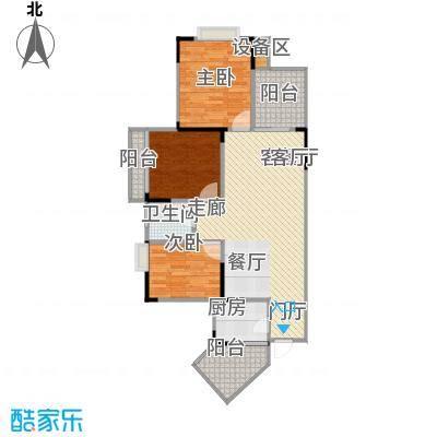 明发尚都国际2号楼D13号房6607户型