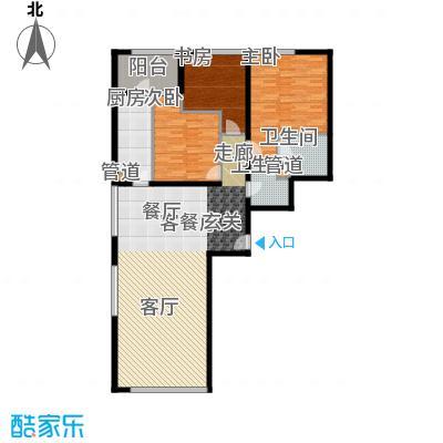 新奥洋房148.00㎡东2#05户型