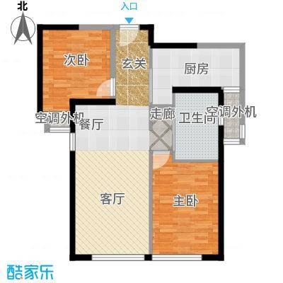 金百国际61.62㎡777户型