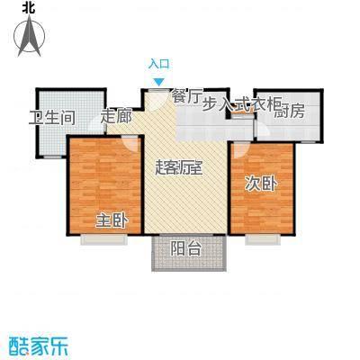 青枫公馆86.00㎡户型