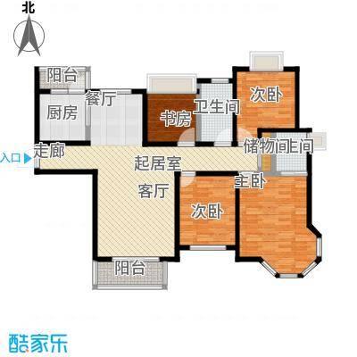 青枫公馆112.00㎡户型