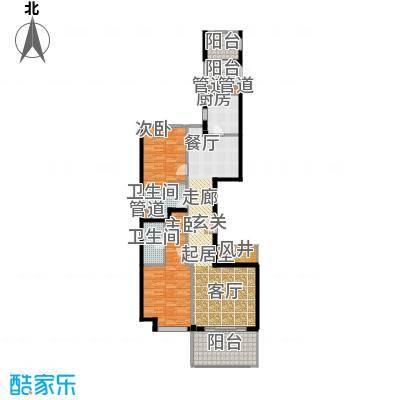 经典茂名公寓130.00㎡房型户型