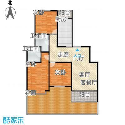 虹康景博苑140.00㎡房型户型