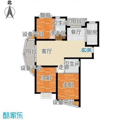 欣晟家园110.77㎡房型户型
