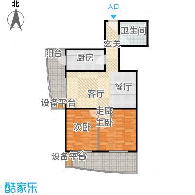 永合馨苑(尾盘)102.20㎡ 户型