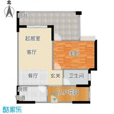 隆鑫国际4号楼5、6号房户型