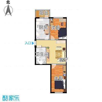 方案_2室1厅