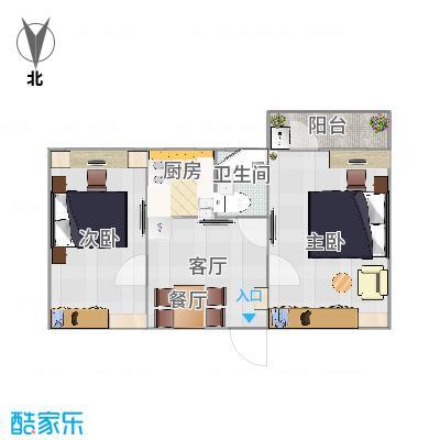 60㎡两室一厅