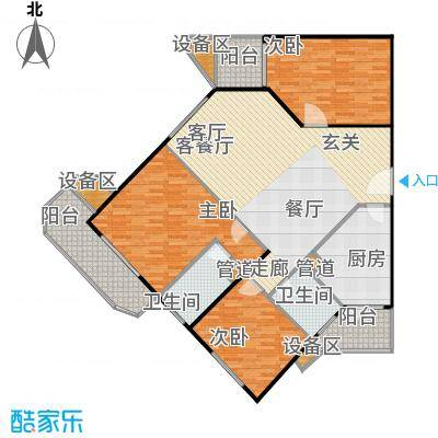 荣宁园147.74㎡户型