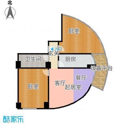 迦南公寓(尾盘)103.38㎡户型