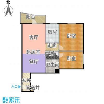 迦南公寓(尾盘)116.29㎡户型