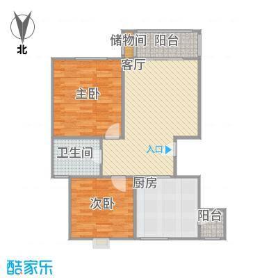 87平两室两厅