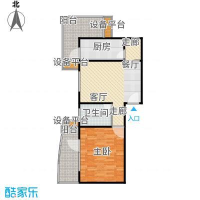 永合馨苑(尾盘)70.40㎡户型
