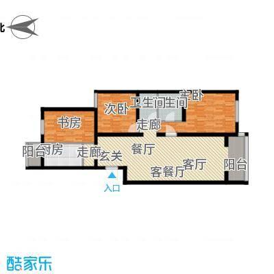 龙锦苑东五区三室两厅