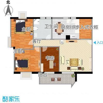 1002三室二厅